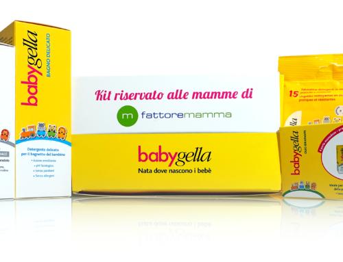 """Bollino """"Consigliato dalle Mamme"""" di FattoreMamma: Babygella"""