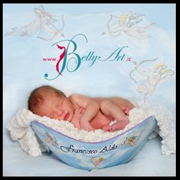 Belly Casting: Calco della pancia in 3